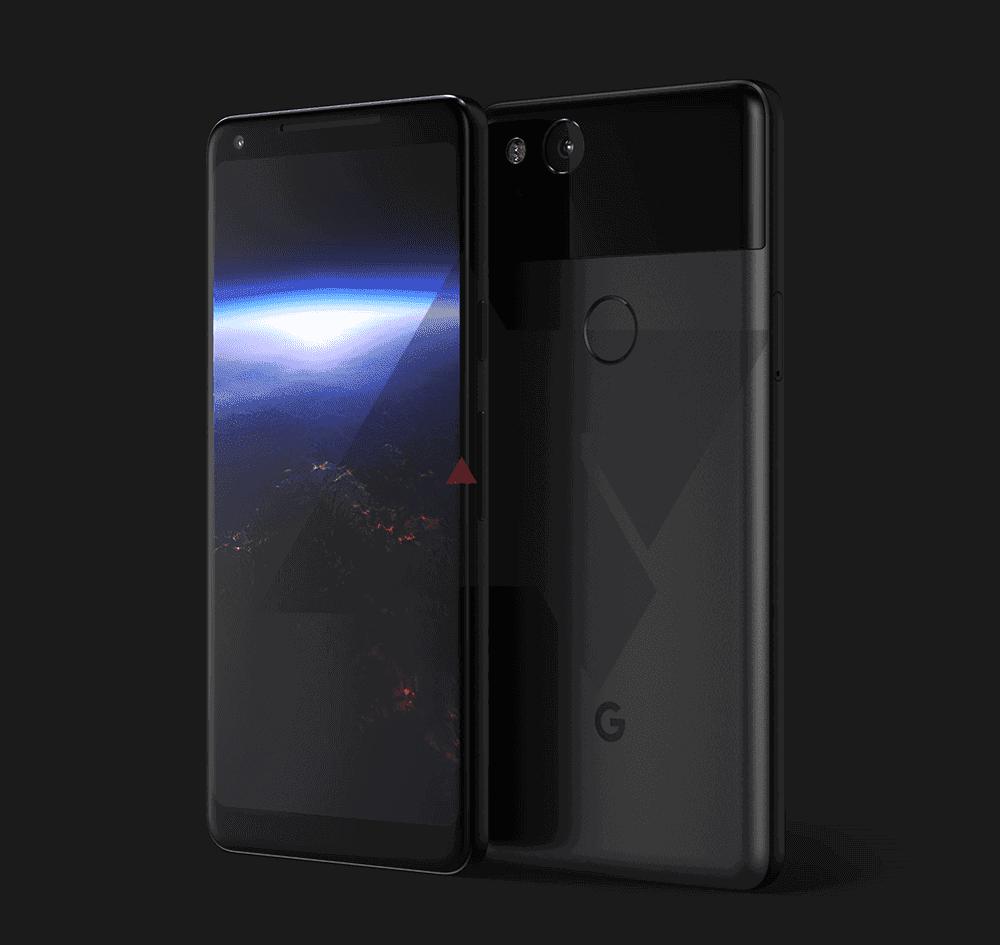 Google Pixel XL 2017 Leaked Renders 2