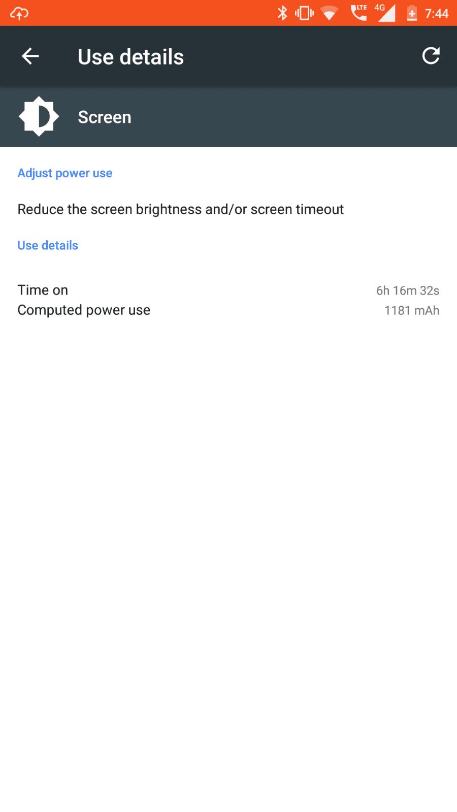 Nokia 6 AH NS screenshots battery sot max