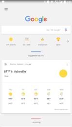 Nokia 6 AH NS screenshots launcher google now 1