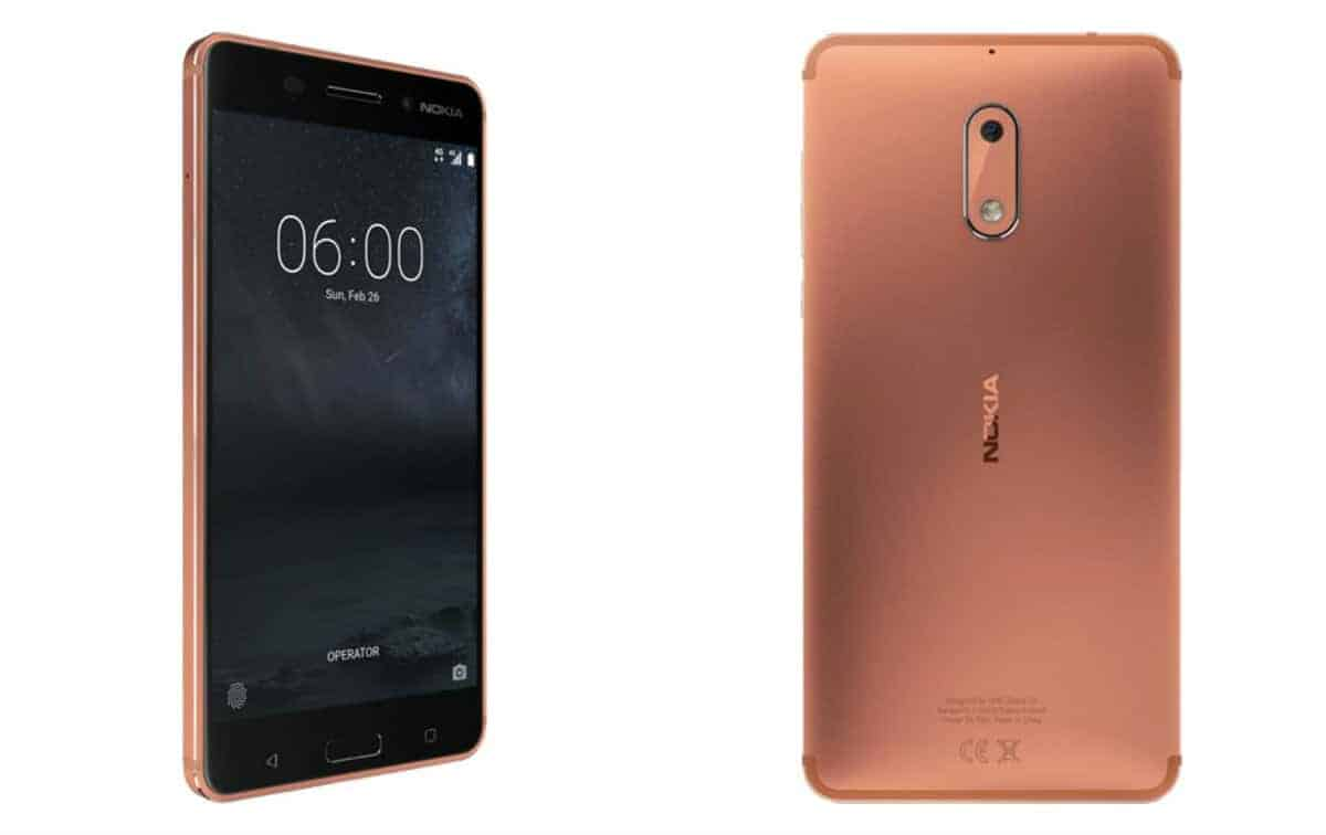 Us Nokia 6 Shipping On August 10 Copper Model On August