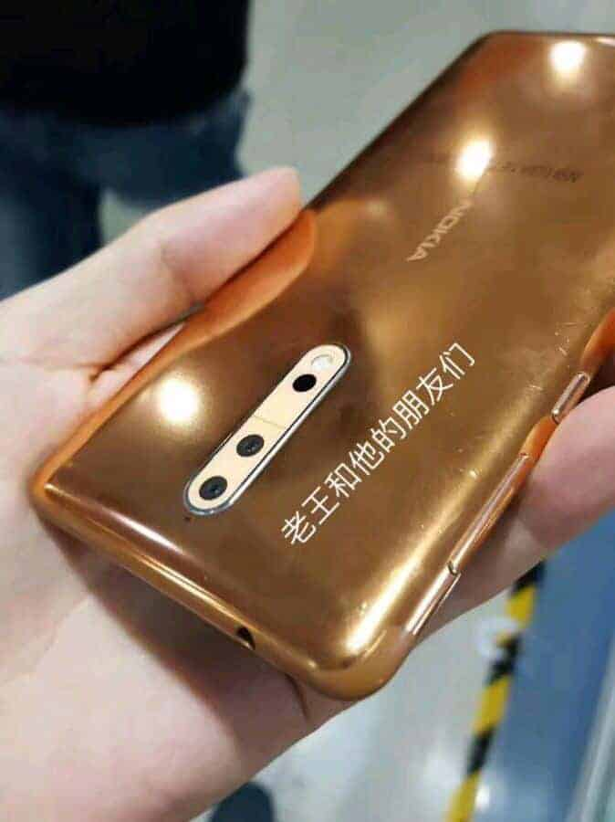 Nokia 8 China Baidu Production Leak 3