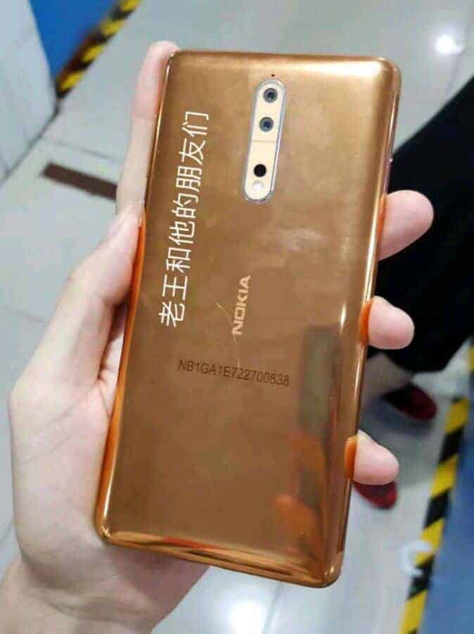 Nokia 8 China Baidu Production Leak 7