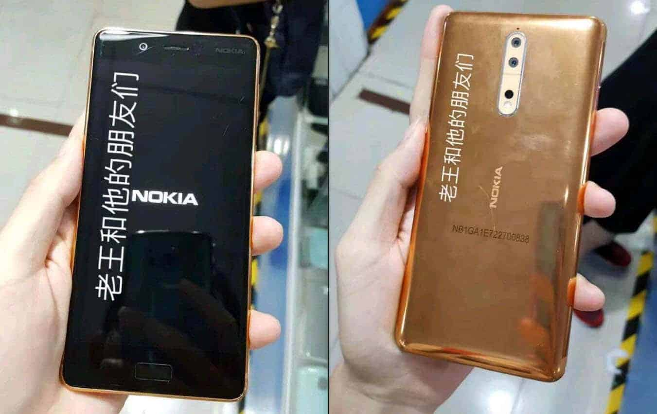 Nokia 8 running on Android 8.0 spotted on Geekbench