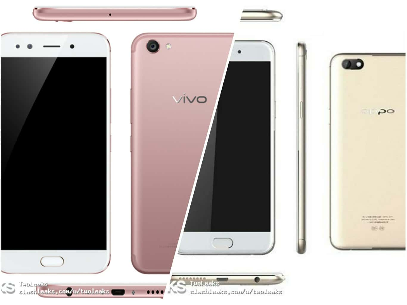 Oppo A77 Amp Vivo X9s Plus Renders Specs And Prices Surface