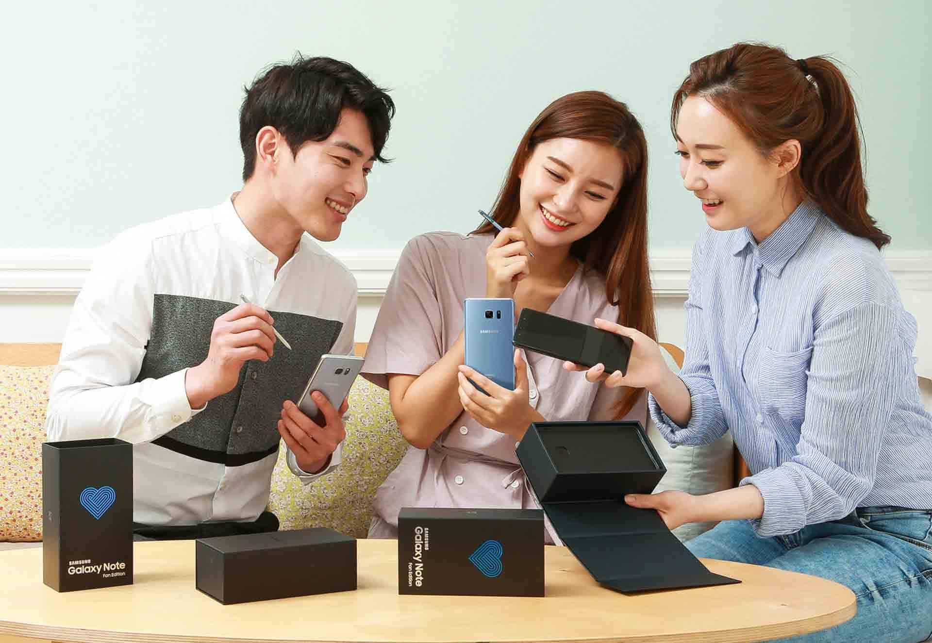 Samsung Galaxy Note Fan Edition Promo 1