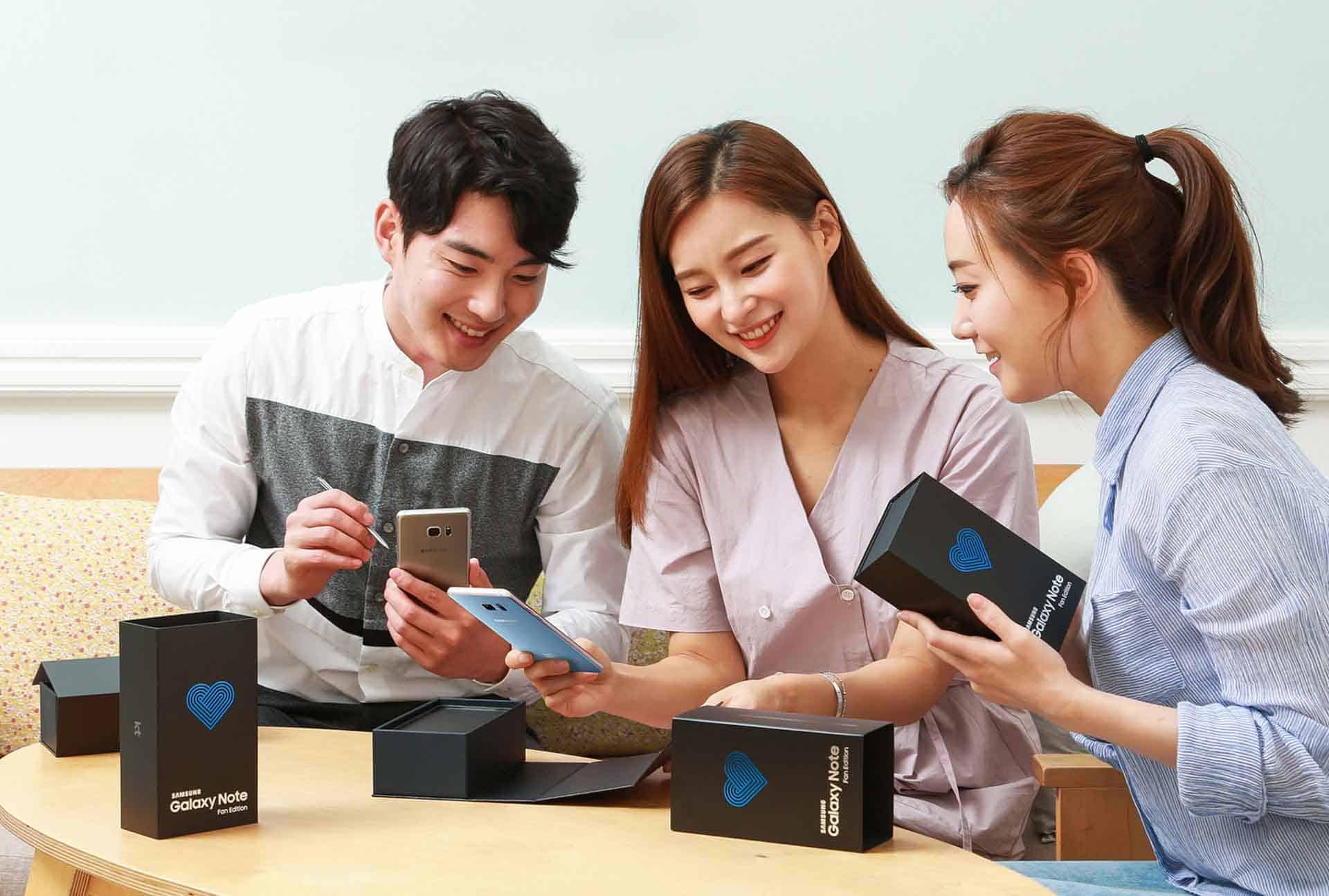 Samsung Galaxy Note Fan Edition Promo 2