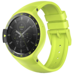Sport yellow dial fastened right side