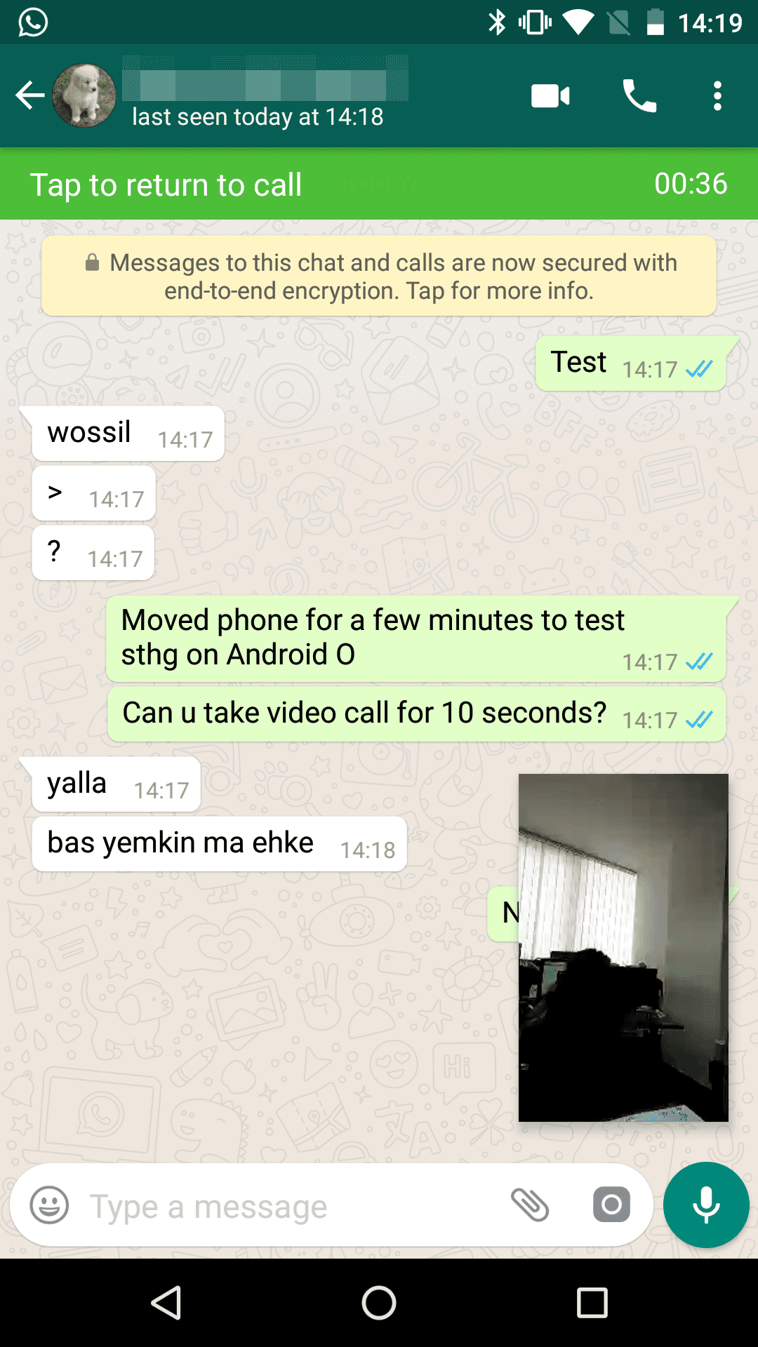 WhatsApp Picture In Picture Calls Android Police 1