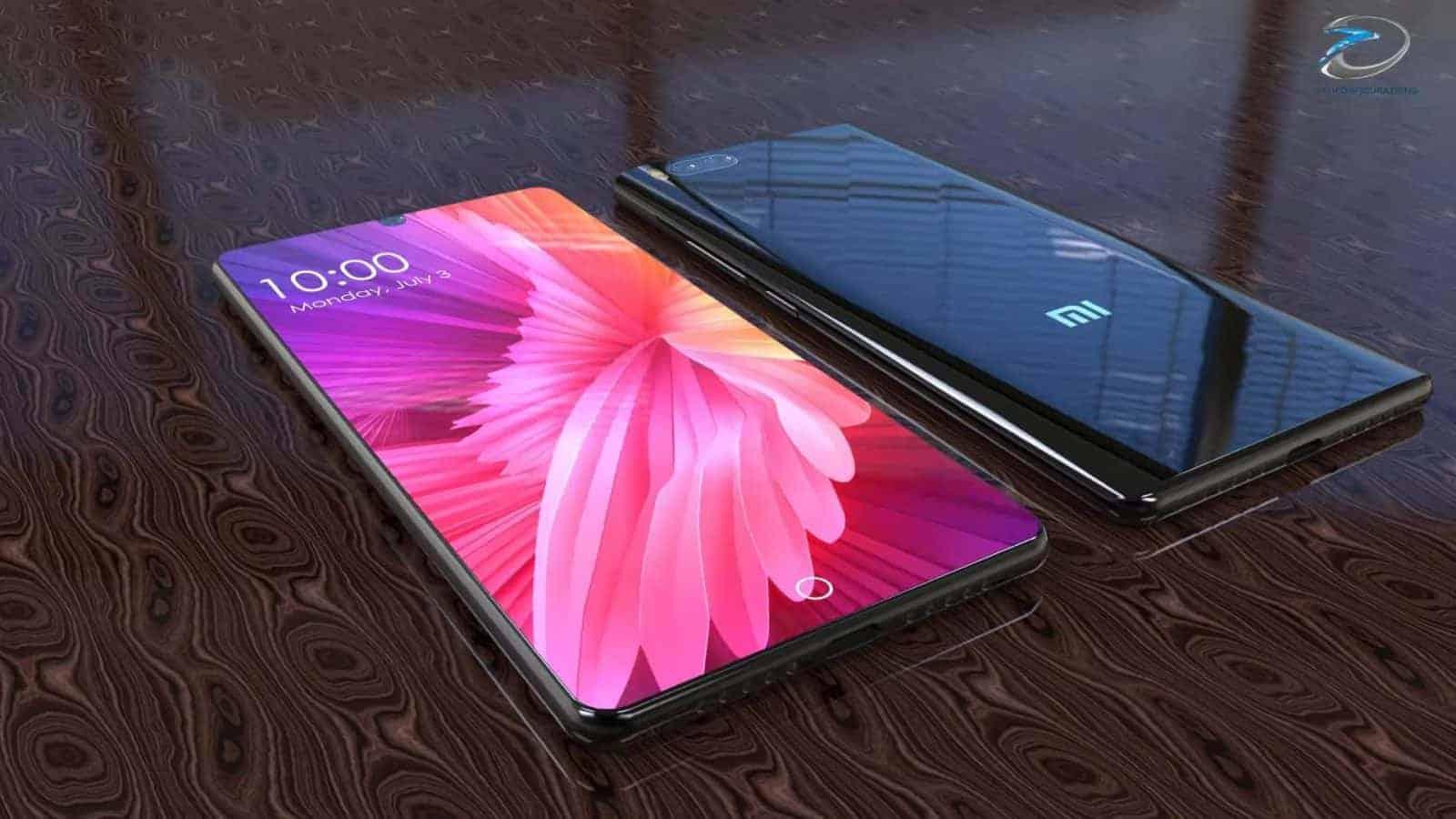 Video This Xiaomi Mi 7 Concept Sports A Bezel Less
