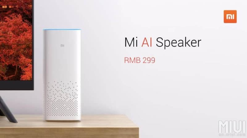 Xiaomi Officially Intros The Mi AI Speaker Priced At $45