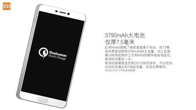 Xiaomi Redmi Note 5 specs leak 4