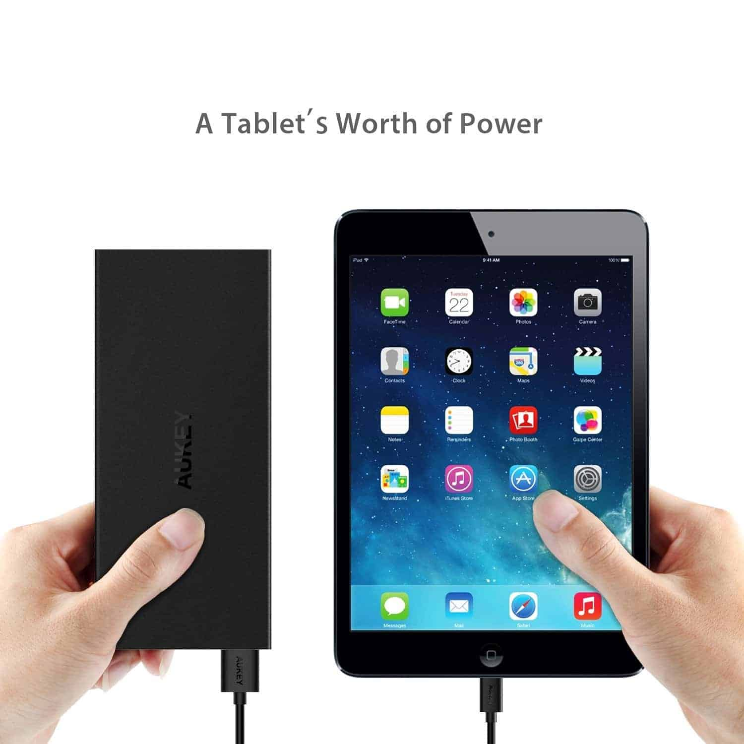 aukey 16000mah qc3 battery pack deal 8