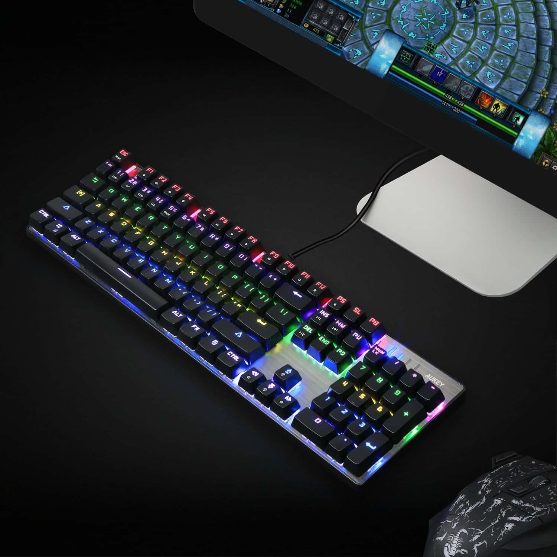 aukey mechanical keyboard 5