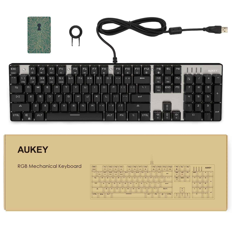 aukey mechanical keyboard 7