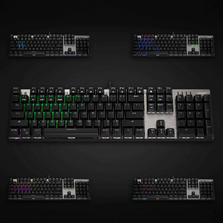 aukey mechanical keyboard 8