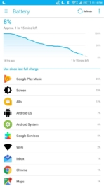 Asus Zenfone AR AH NS Screenshots battery 1