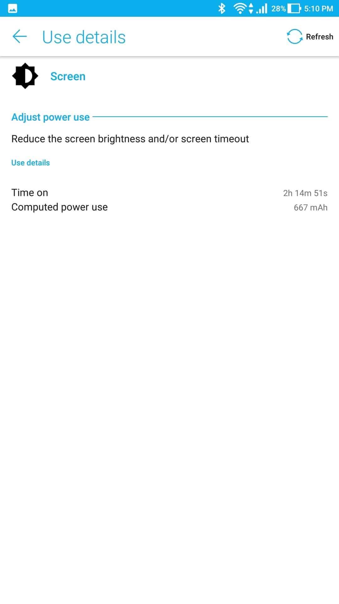 Asus Zenfone AR AH NS Screenshots battery 3