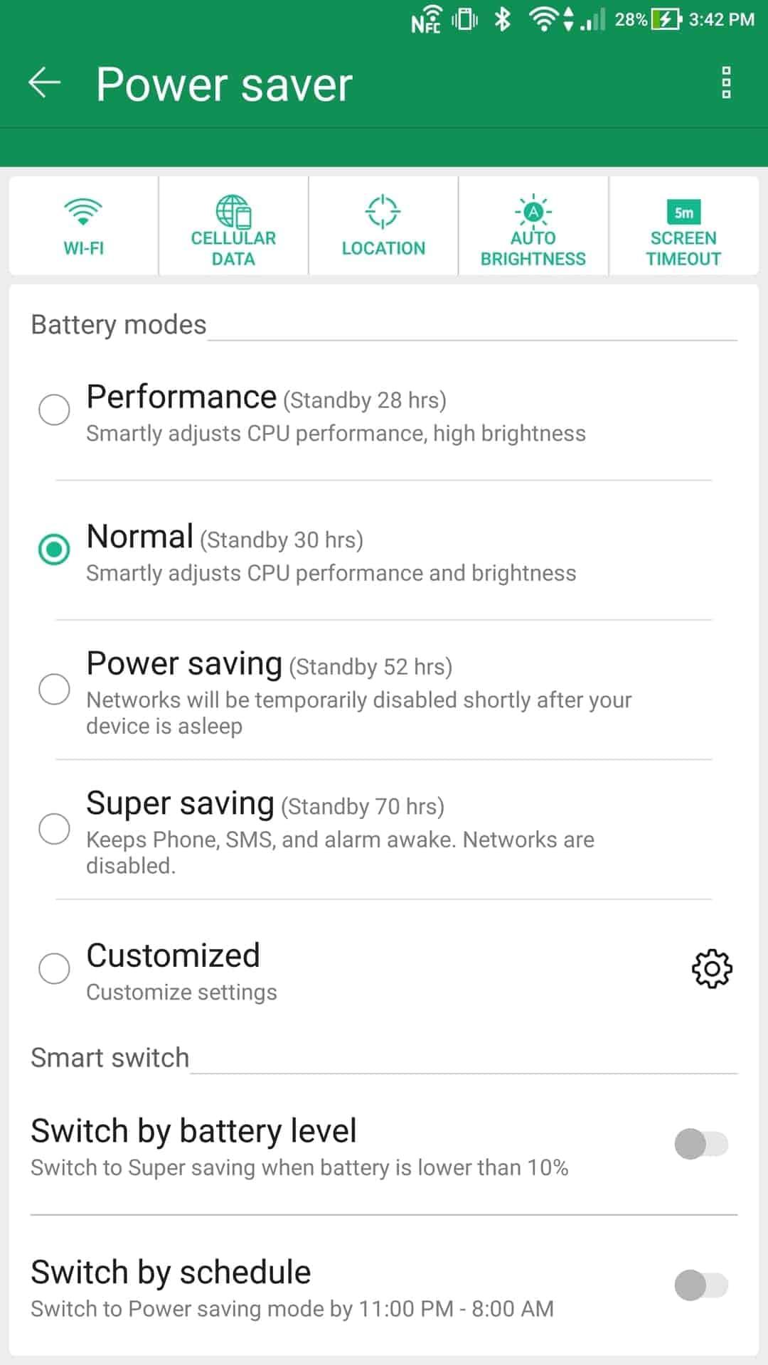 Asus Zenfone AR AH NS Screenshots battery 4