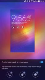 Asus Zenfone AR AH NS Screenshots ui lockscreen