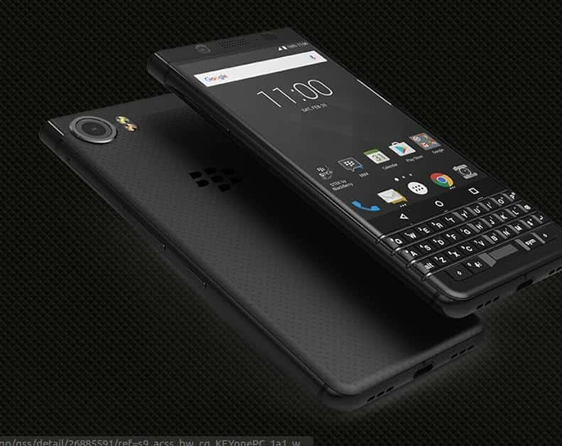 BlackBerry KEYone Limited Black Edition 1