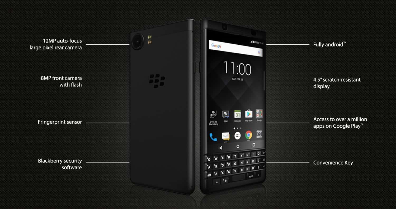 BlackBerry KEYone Limited Black Edition 2