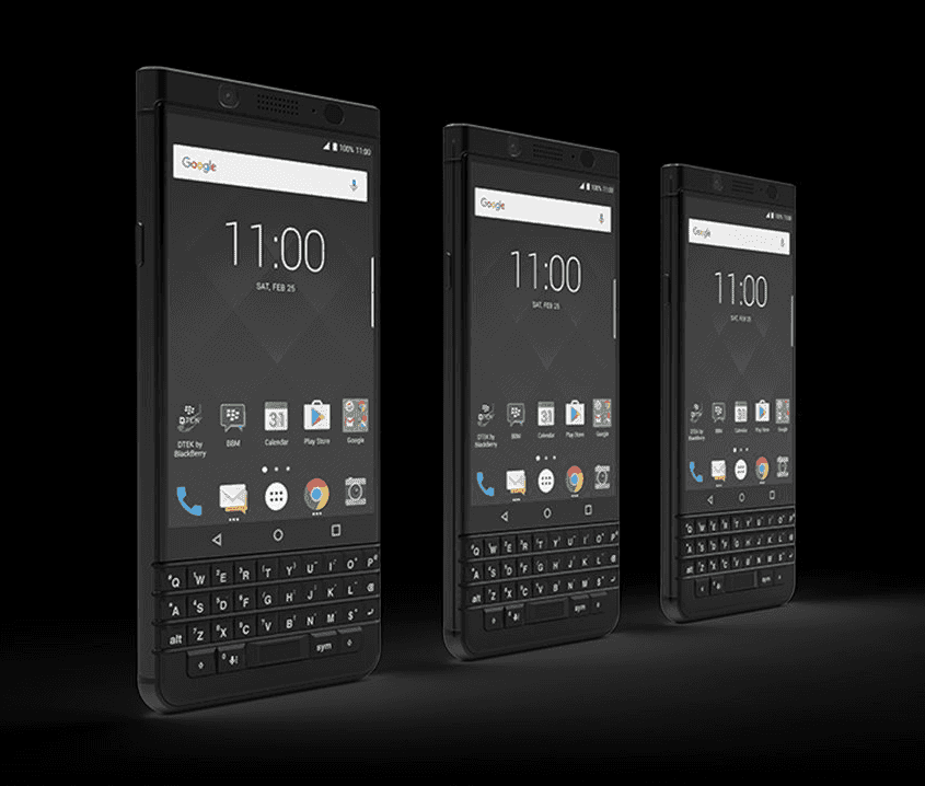 BlackBerry KEYone Limited Black Edition 3