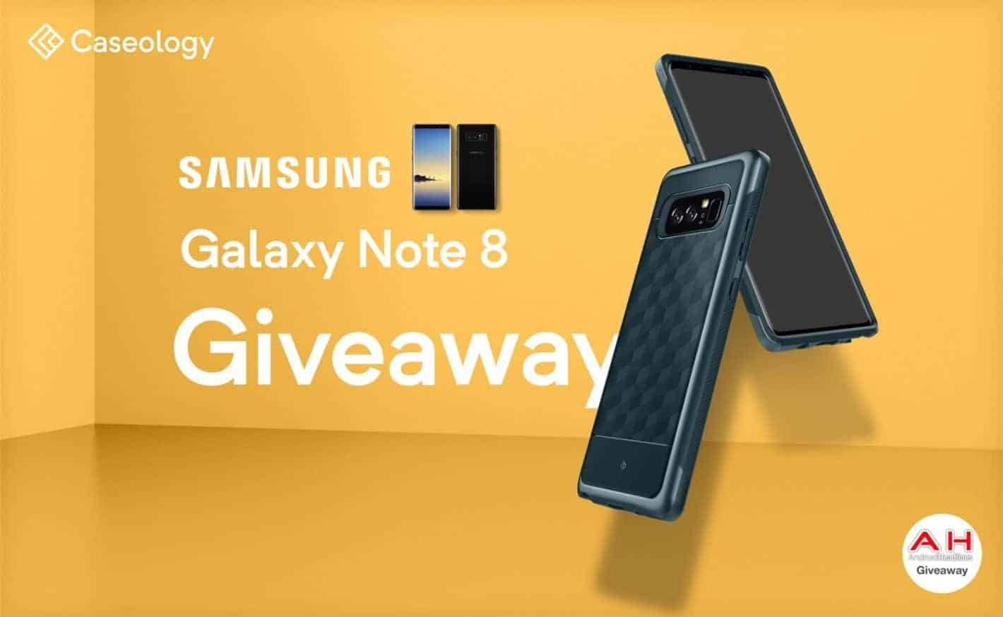 Caseology Samsung Note 8 Contest Banner 2