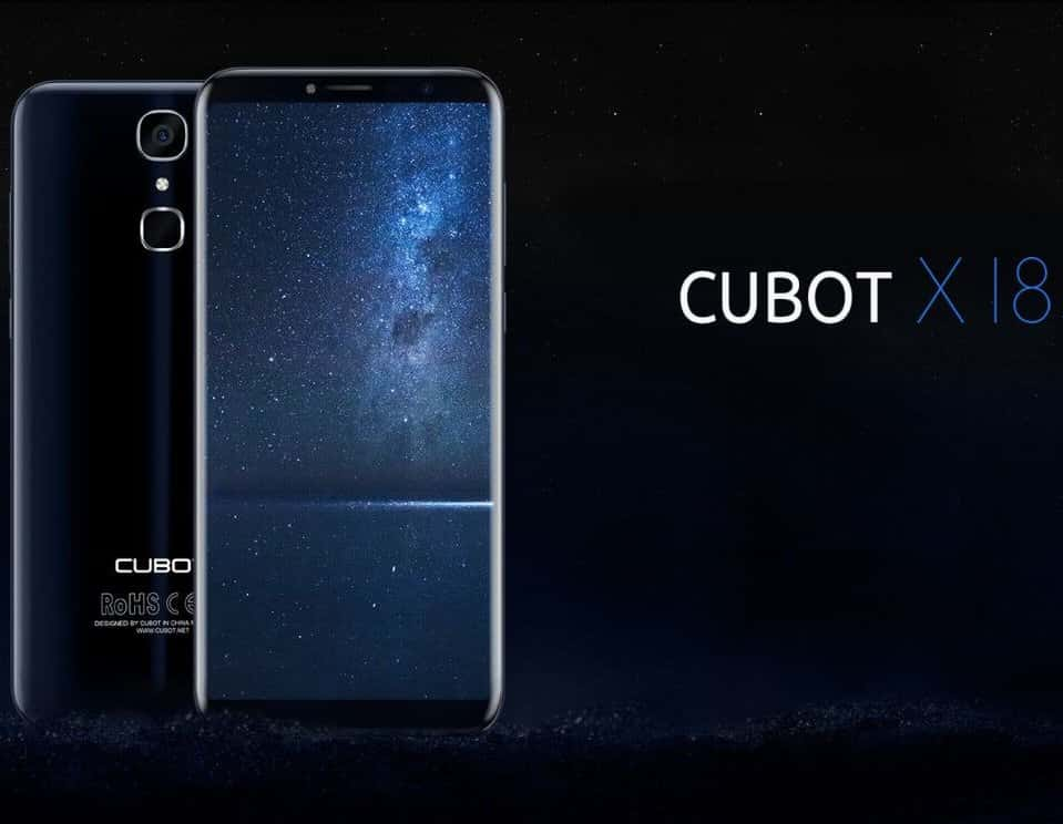 Bezel Less Cubot X18 Leaks Its Inspired By The Galaxy