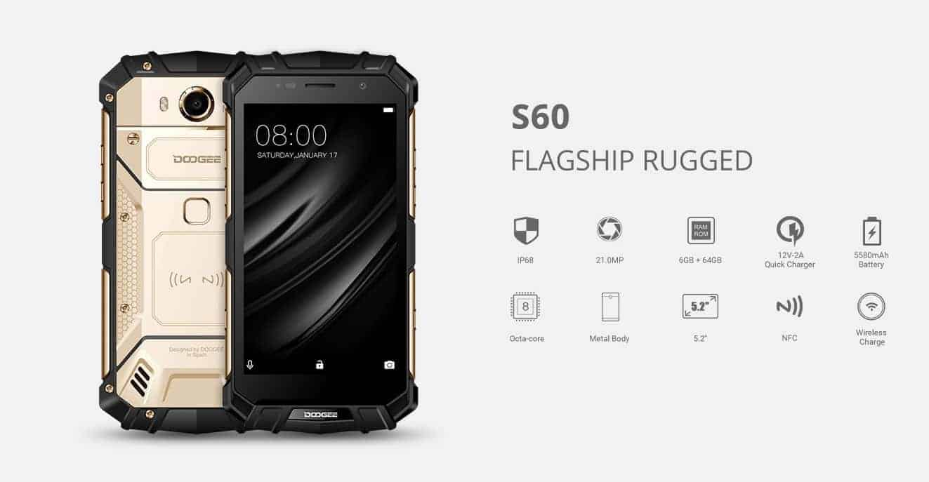 Doogee S60 Is Much More Than Just Another Rugged