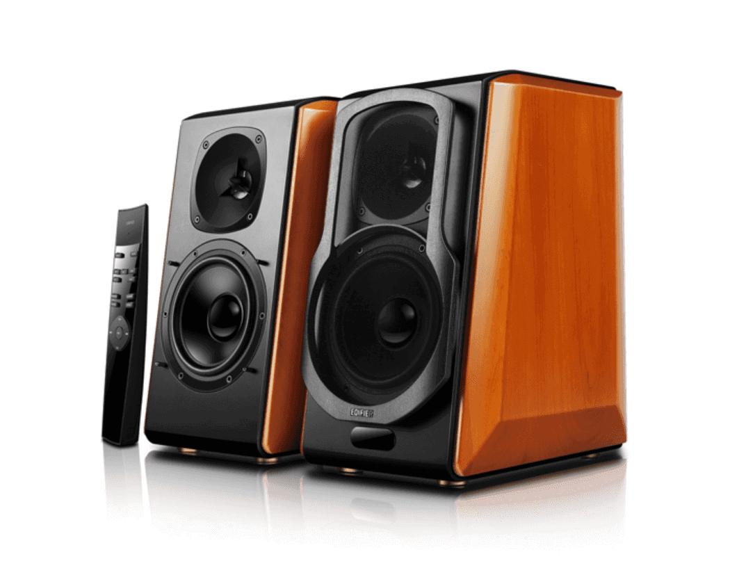 edifier's s2000pro speakers offer retro design, modern tech
