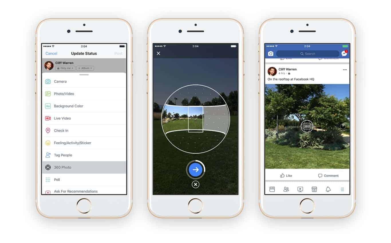 Facebook 360 photos 1