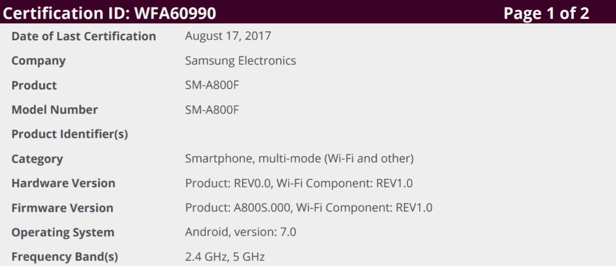 Galaxy A9 A9 Pro Tab E Nougat Testing 4