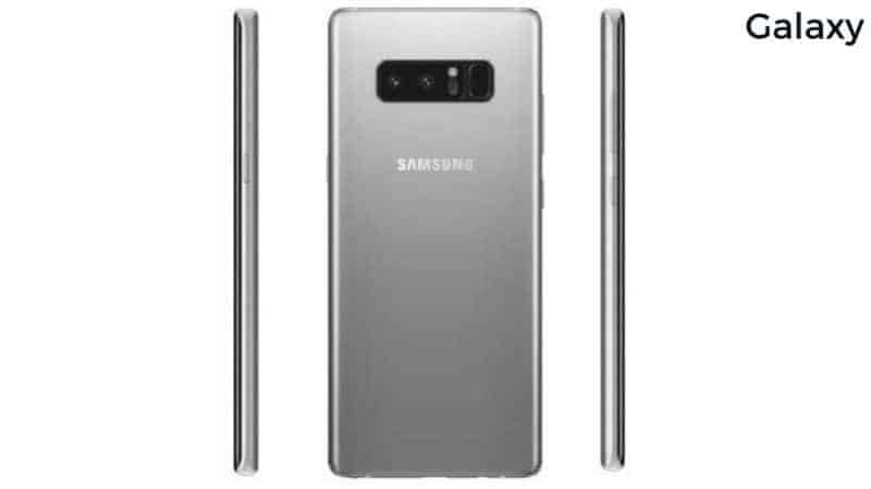 Arctic Silver And Milky White Galaxy Note 8 Variants Surface