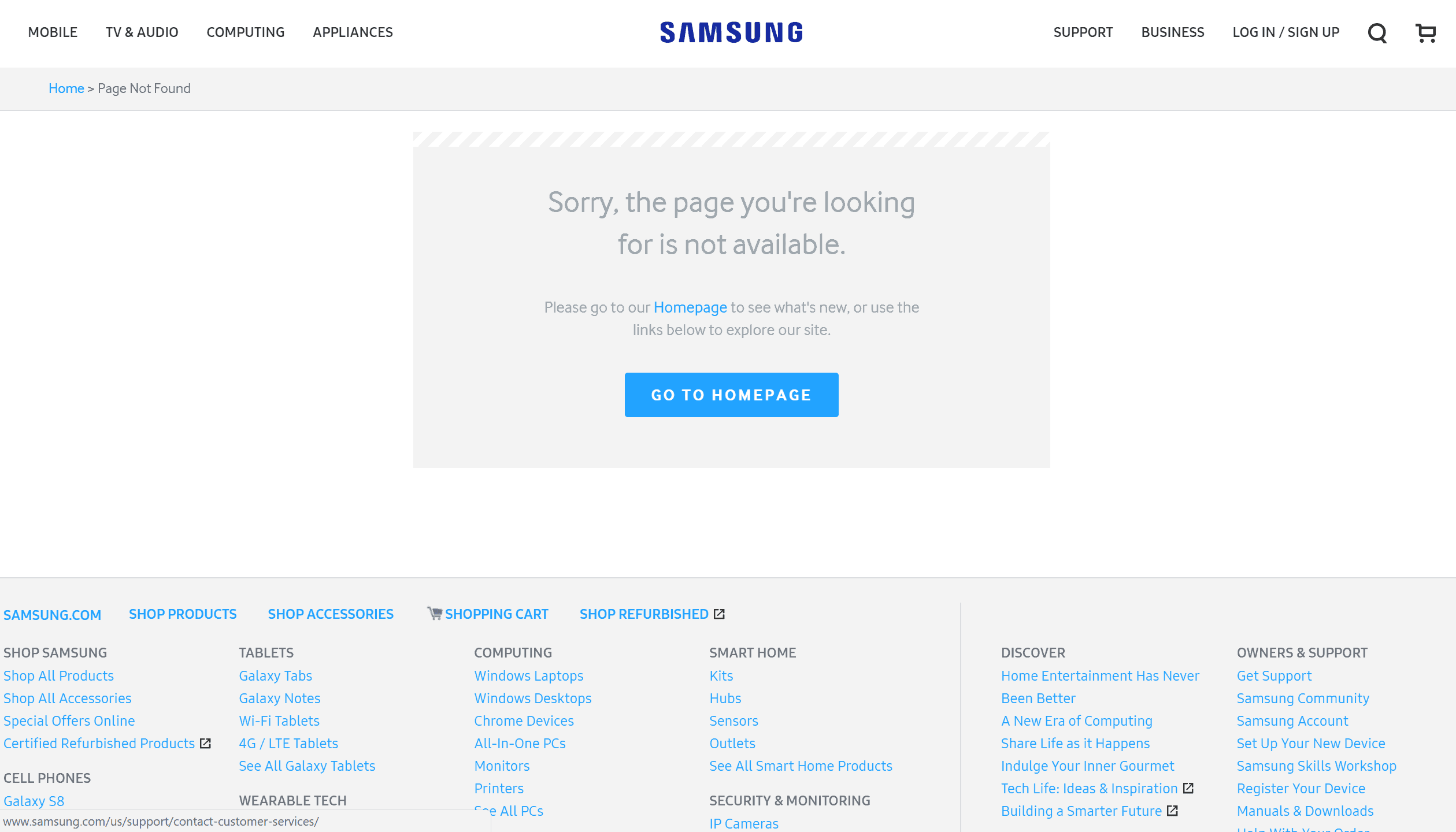 Galaxy Note 8 Samsung Web Store 1