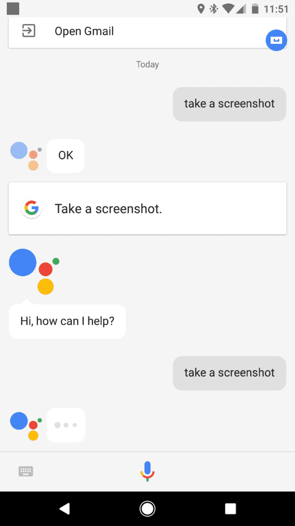 how to take a screenshot in google