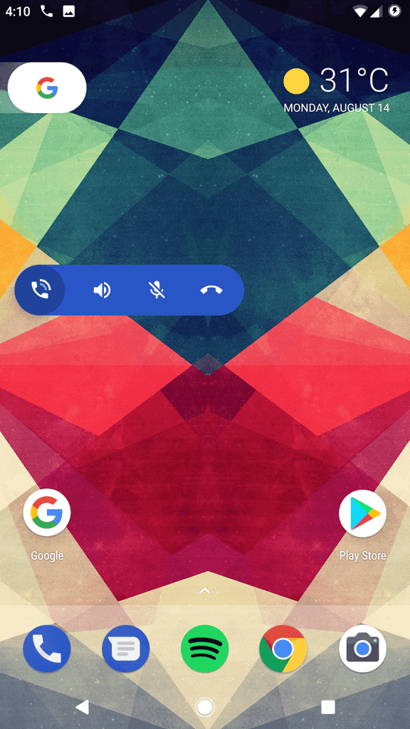 Google Phone Floating Icon 9to5G 2