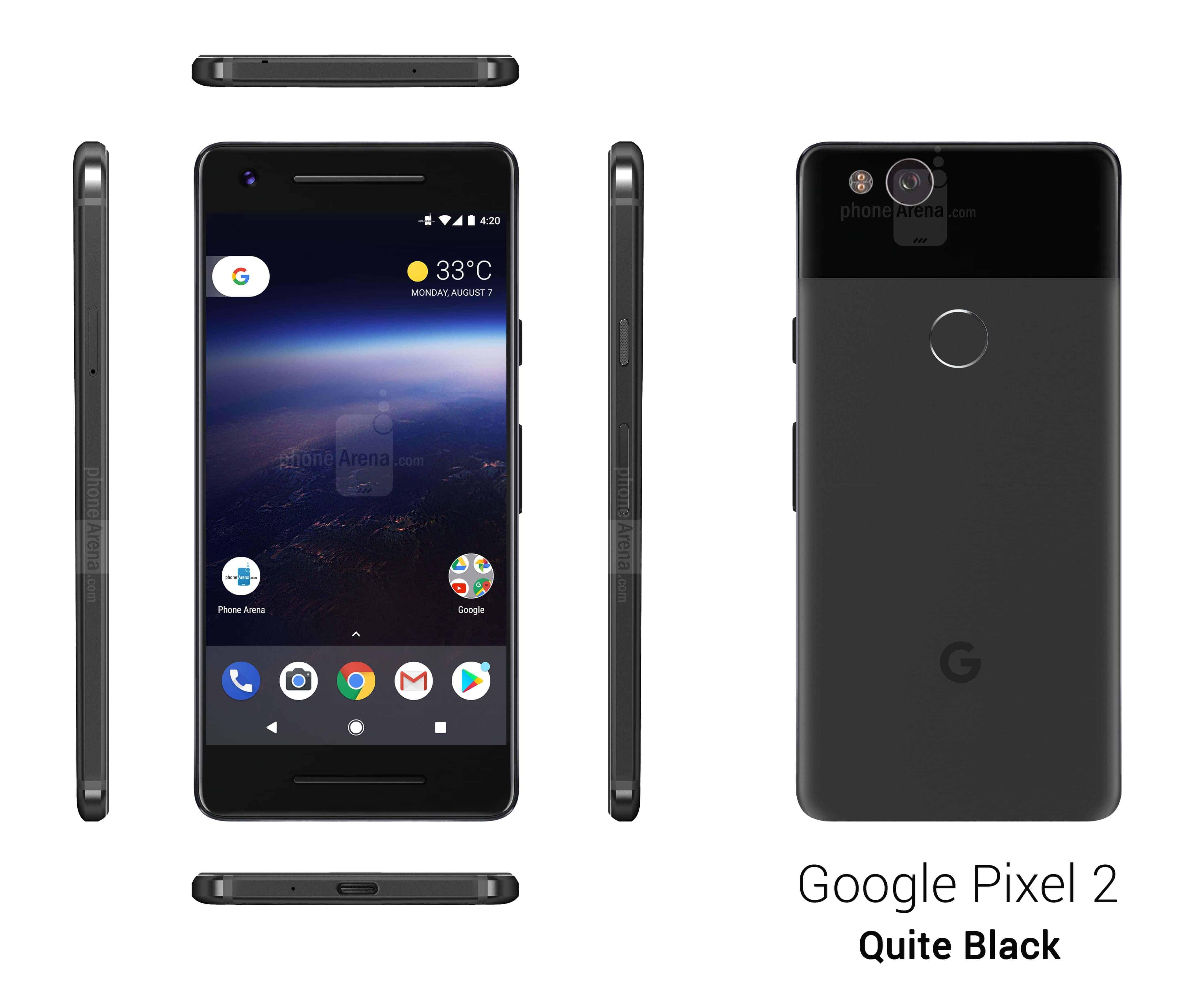 Google Pixel 2 Phone Arena Leak 2