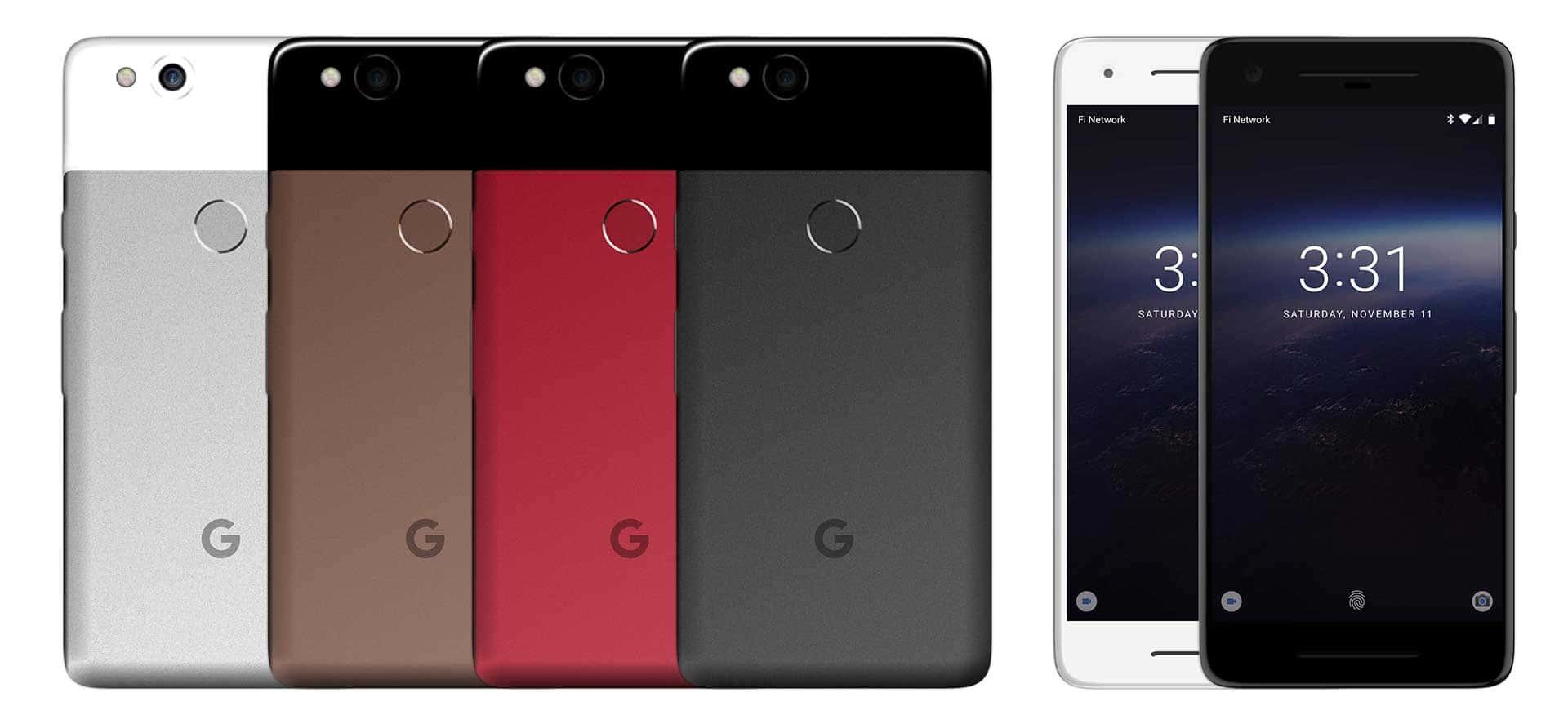 Google Pixel 2 Reddit High Res Concept Render 2