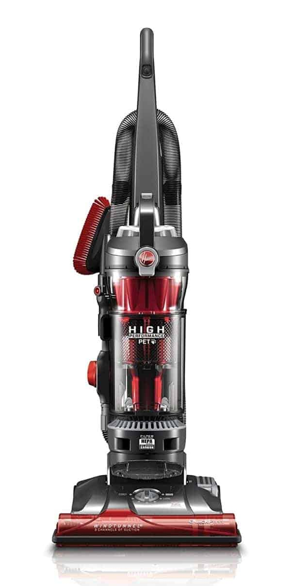 Hoover Vacuum Cleaner WindTunnel 3 High Performance Pet Bagless Corded Upright Vacuum