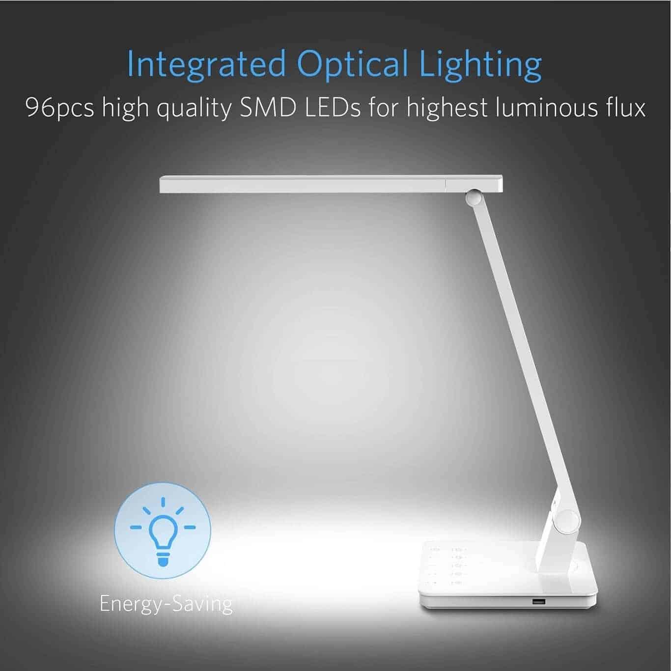 LED Dimmable Desk Lamp by BESTEK 03