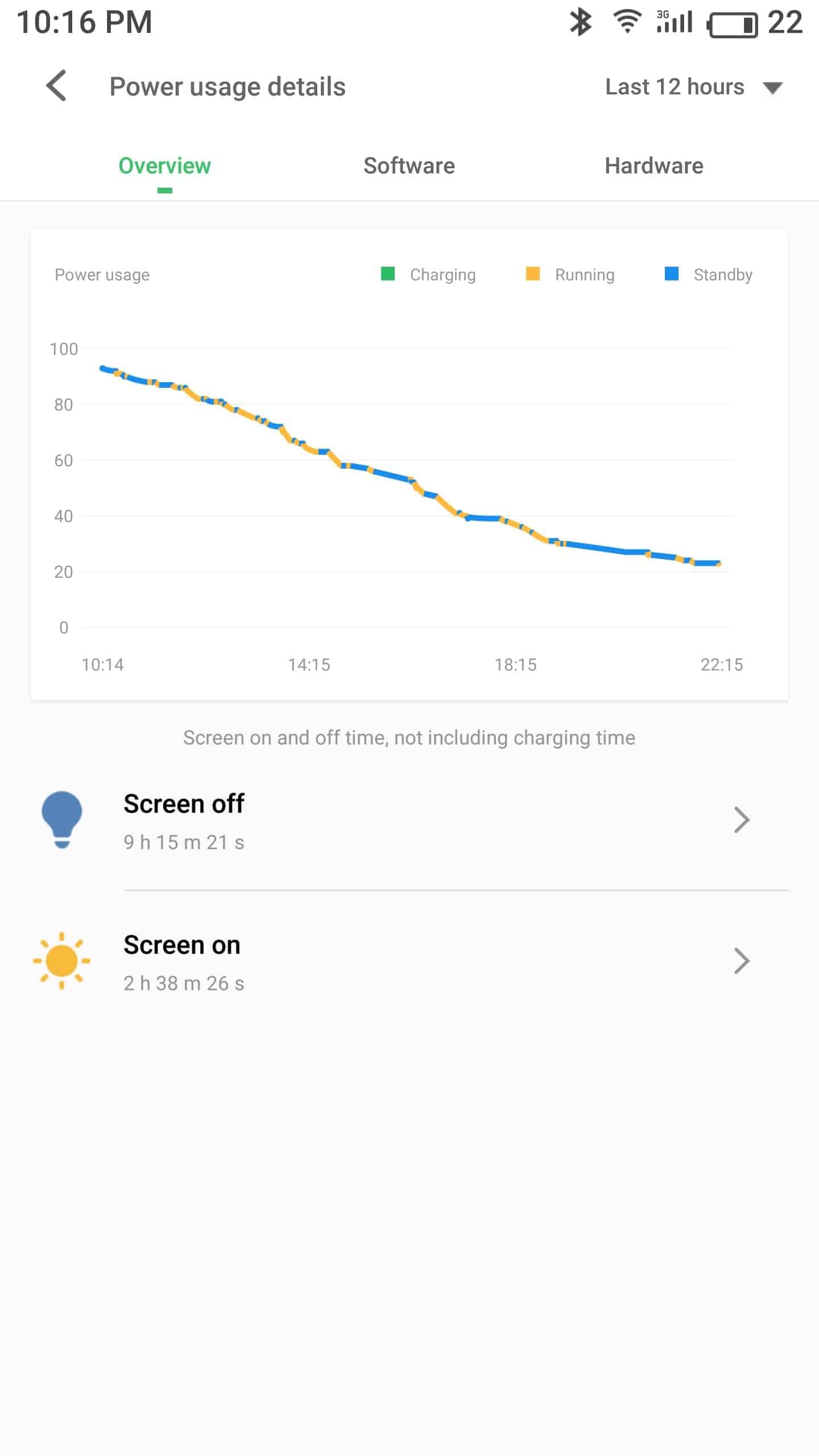 Meizu Pro 7 Plus AH NS screenshots battery 1