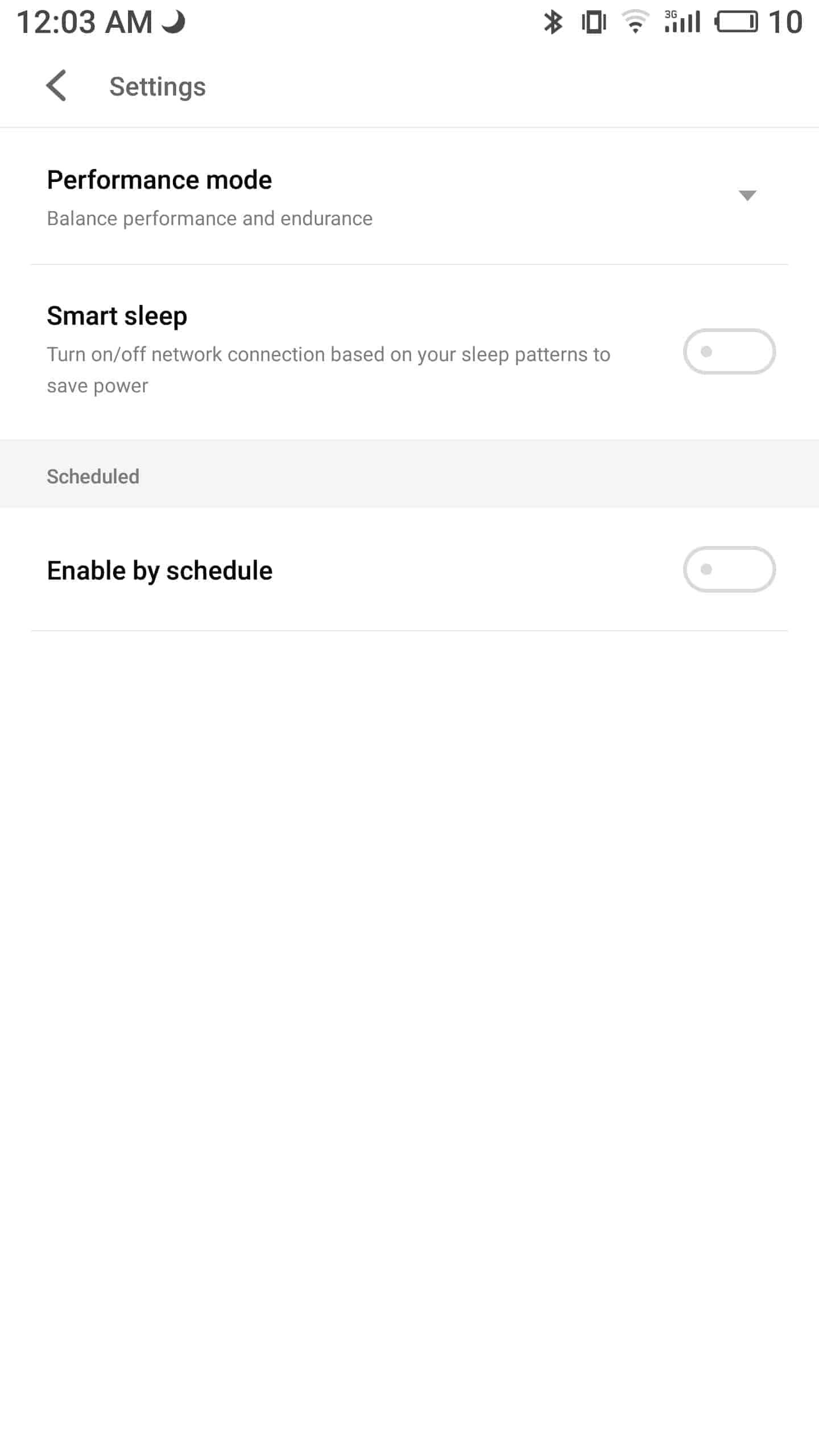 Meizu Pro 7 Plus AH NS screenshots battery 2