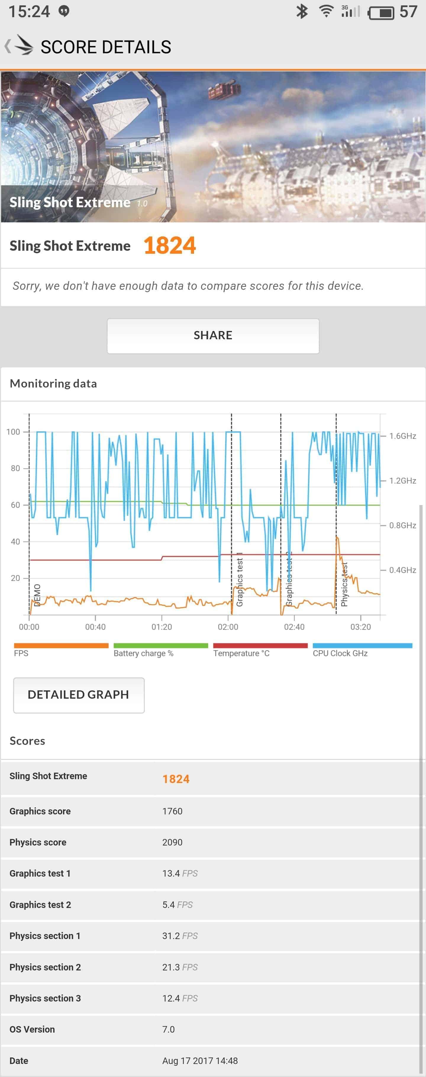Meizu Pro 7 Plus AH NS screenshots benchmarks 1