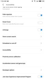 Meizu Pro 7 Plus AH NS screenshots home button 2