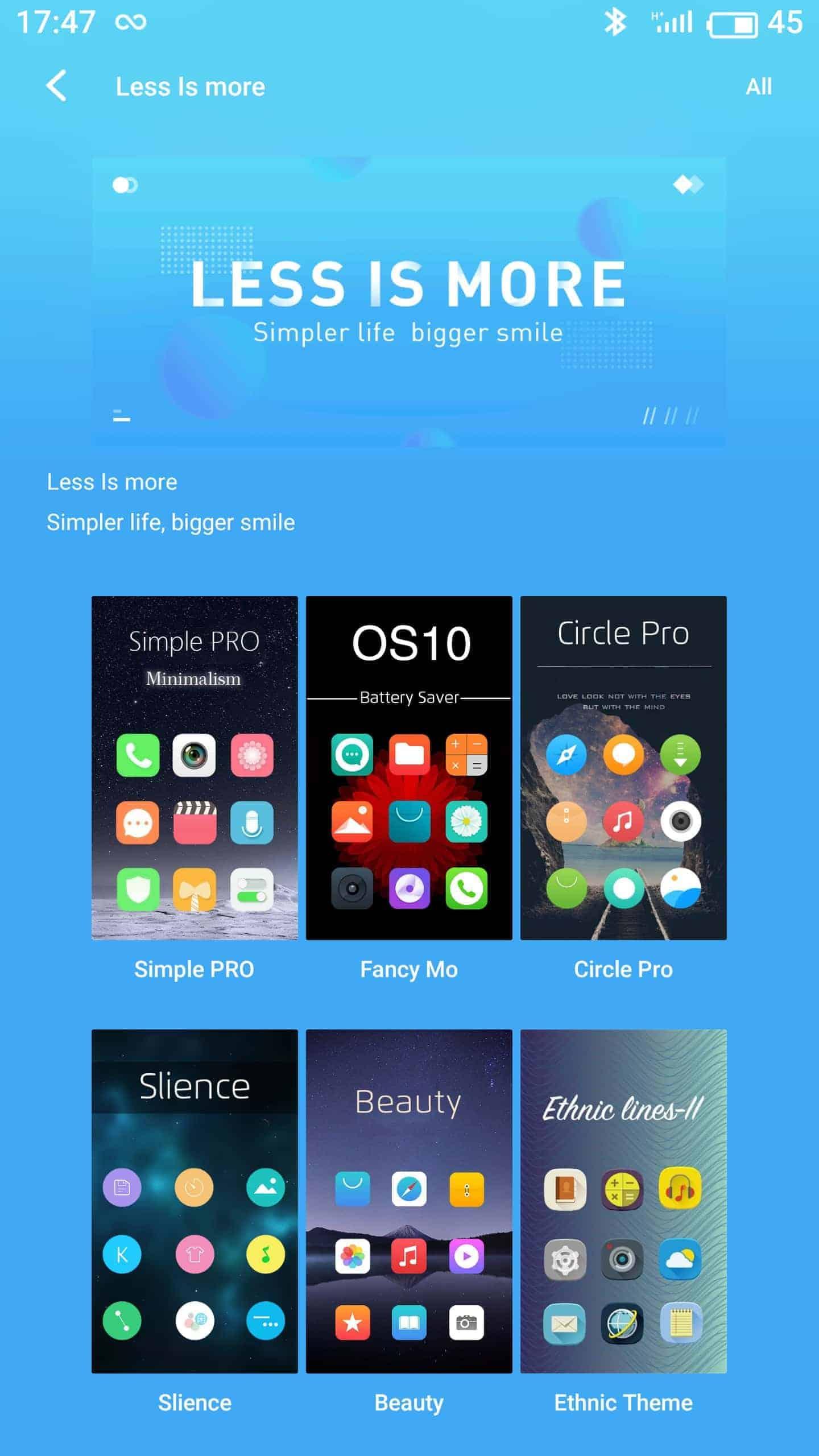 Meizu Pro 7 Plus AH NS screenshots themes
