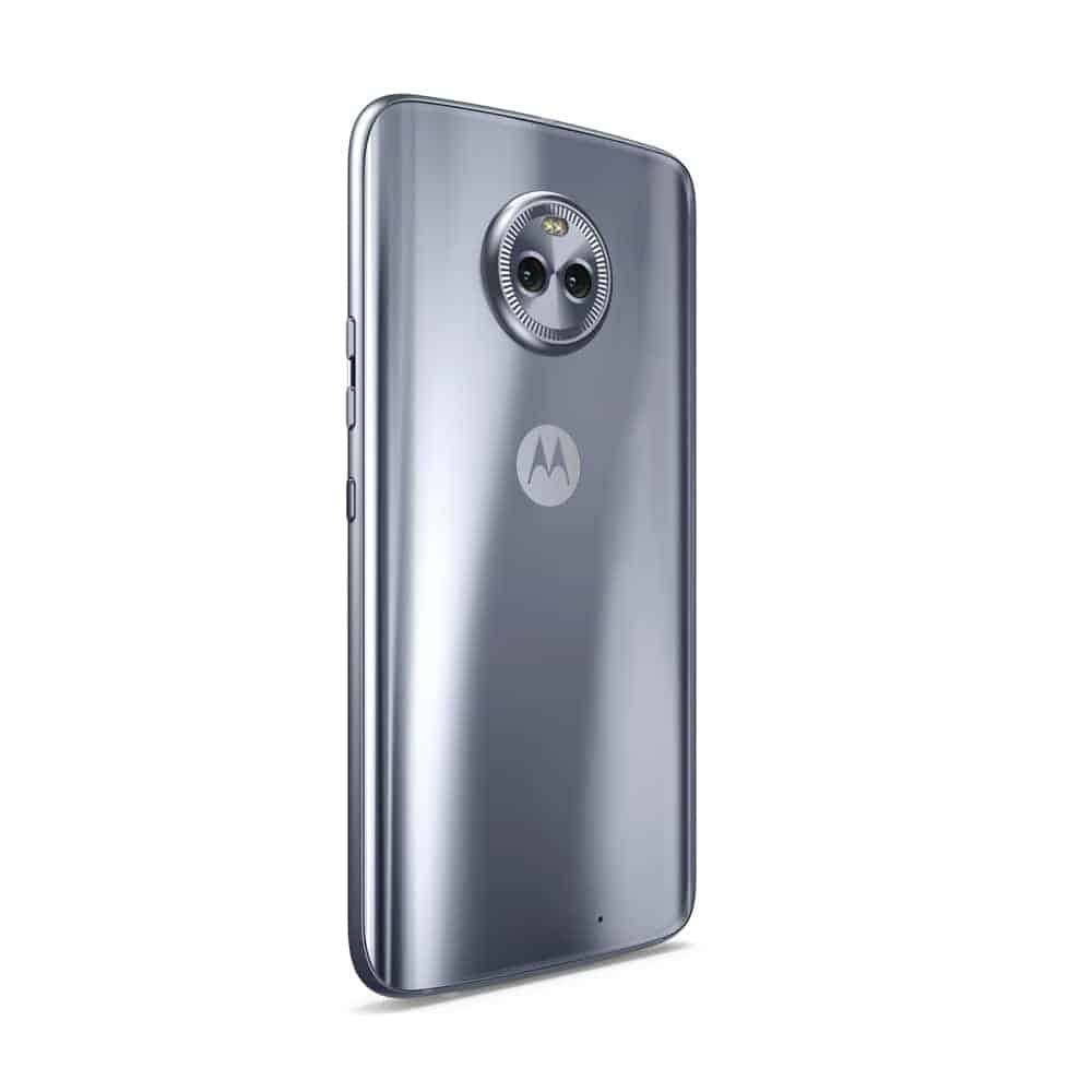 motorola x4. the moto x4 comes in super black and sterling blue color variants. measures 148.35 x 73.4 7.99mm, weighs 163 grams. motorola d