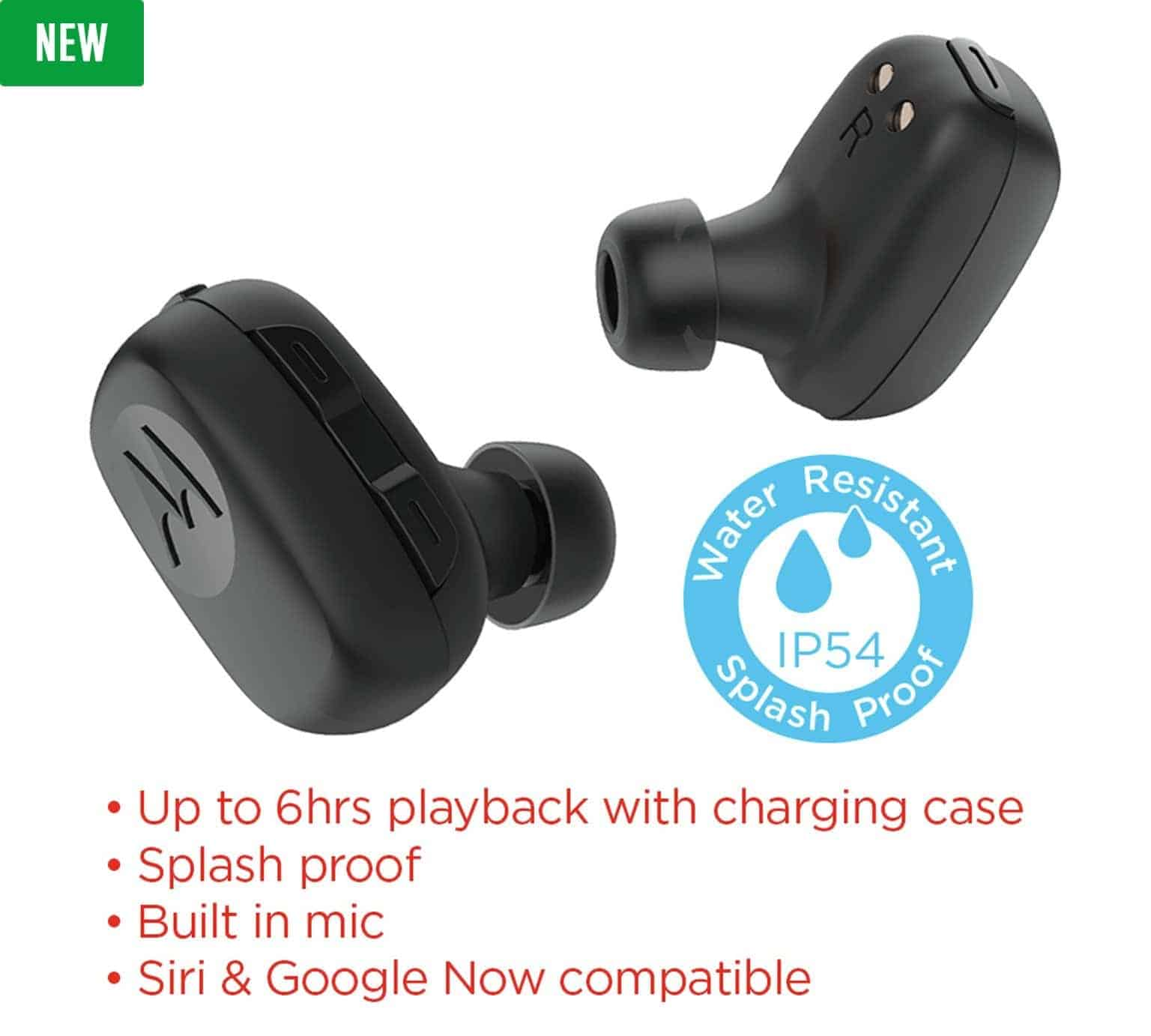 Motorola Stream earbuds