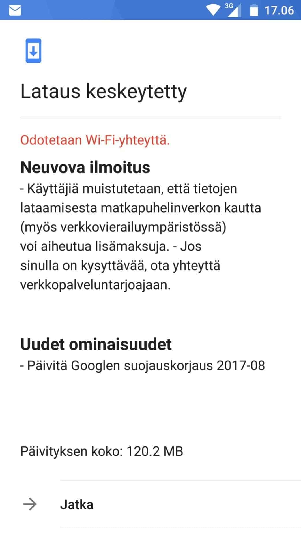 Nokia 5 and Nokia 6 August Security Patch 1