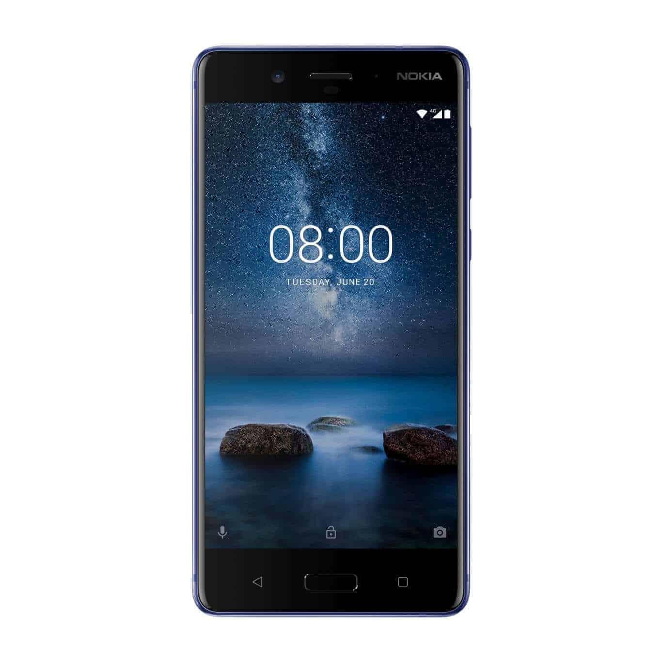 Nokia 8 Polished Blue 1