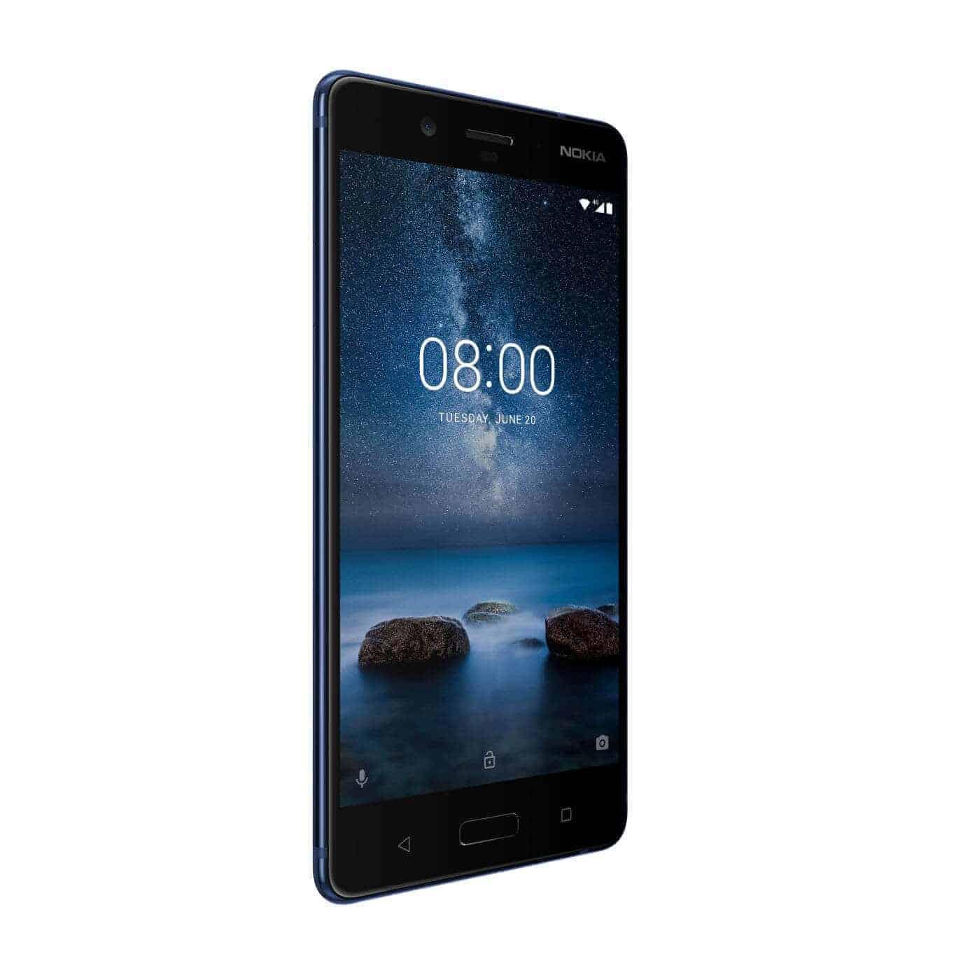 Nokia 8 Polished Blue 3